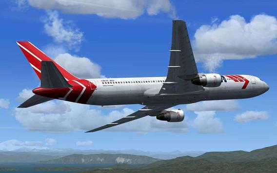 Fly Airplane Flight 3D Sim Pro poster