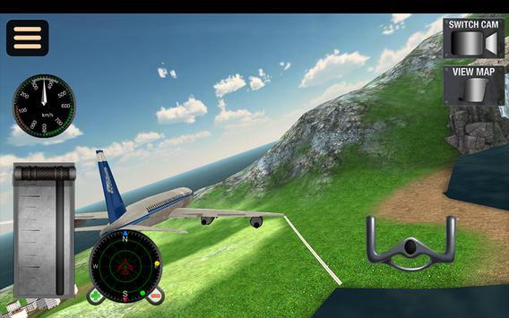 Fly Airplane Flight 3D Sim Pro screenshot 12