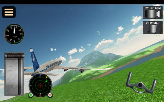 Fly Airplane Flight 3D Sim Pro screenshot 14