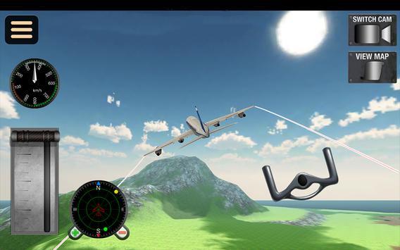 Fly Airplane Flight 3D Sim Pro screenshot 8