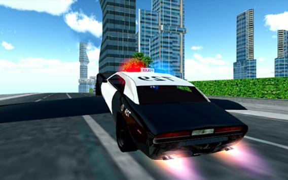🚔Flying Police Car Sim 3D Pro poster