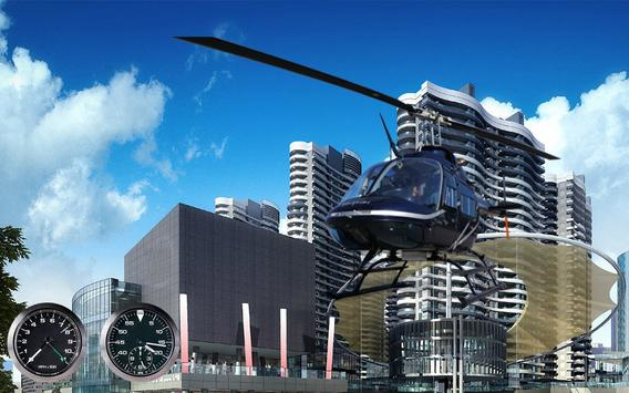 911 Police Helicopter Pilot 3D poster