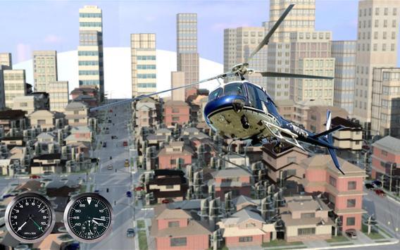 911 Police Helicopter Pilot 3D apk screenshot