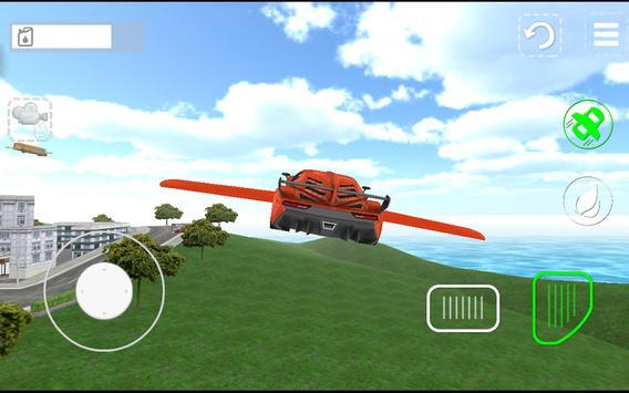 Flying Car Sim Extreme Pilot3D poster