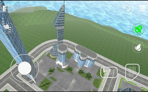 Flying Car Sim Extreme Pilot3D apk screenshot