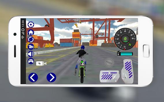 Motocross Dirt Bike Sim 3D Pro screenshot 2