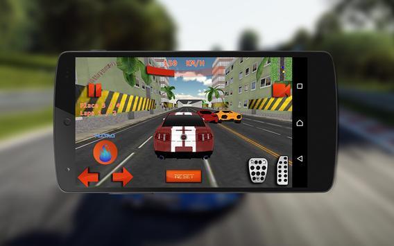 City Car Racing 3d Turbo Fast apk screenshot