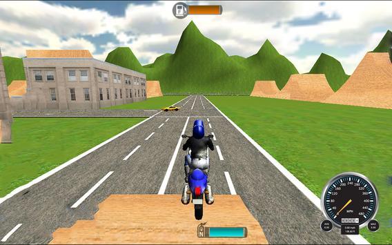 Extreme MotorBike 3D Racer Sim screenshot 13