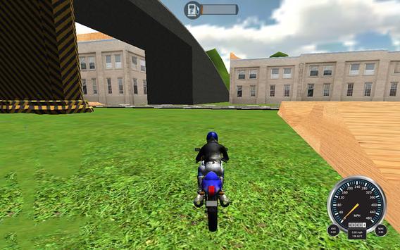 Extreme MotorBike 3D Racer Sim screenshot 9