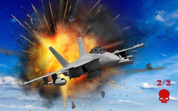 Jet Plane Fighter 3D City War poster