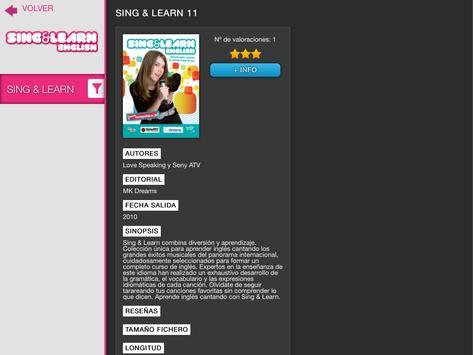 Sing & Learn English screenshot 2