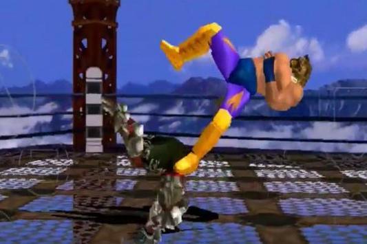 Game Tekken 3 Trick poster