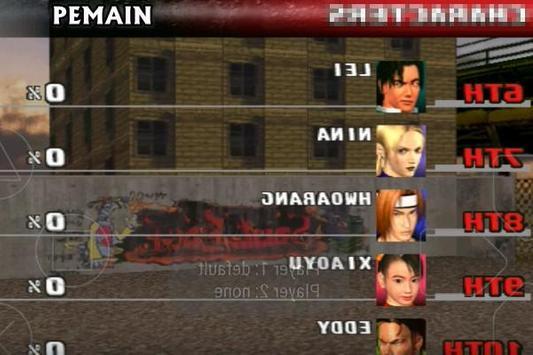 Game Tekken 3 Trick screenshot 7