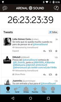 Arenal Sound screenshot 1