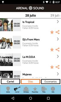 Arenal Sound screenshot 3