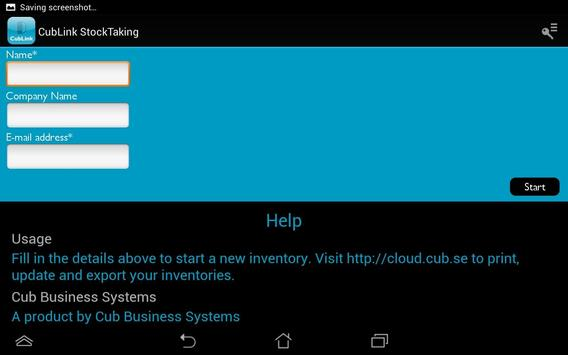 CubLink StockTaking screenshot 7