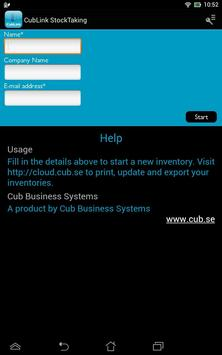 CubLink StockTaking screenshot 8