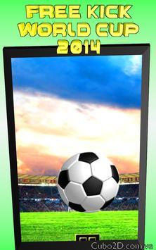 FREE KICK  WORLD CUP 2014 screenshot 5