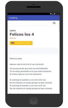 Maluma Música 2017 apk screenshot