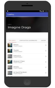 Imagine Dragons Full Music and Lyrics - Thunder apk screenshot