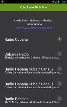 Cuba Radio FM Online poster