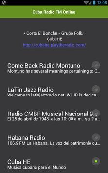 Cuba Radio FM Online apk screenshot