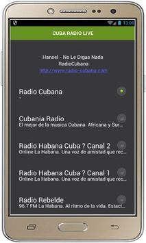 CUBA RADIO LIVE poster