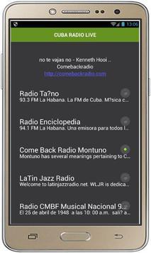CUBA RADIO LIVE screenshot 1