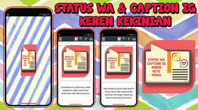 Status Wa Caption Ig Keren Kekinian For Android Apk Download
