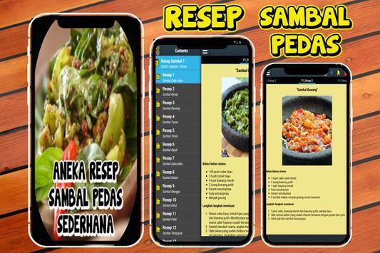 100 Resep Sambal Pedas Nusantara poster