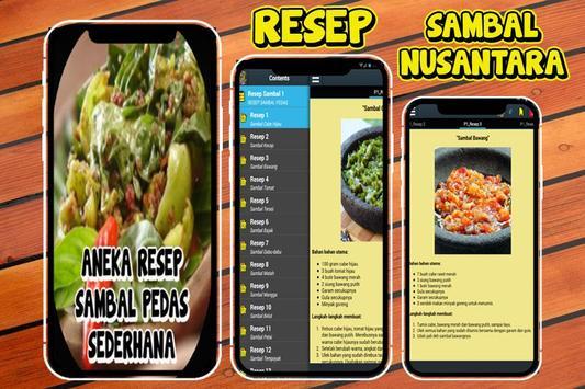 100 Resep Sambal Pedas Nusantara screenshot 1
