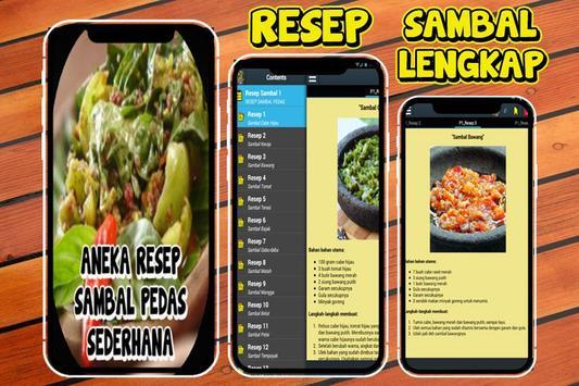 100 Resep Sambal Pedas Nusantara screenshot 2