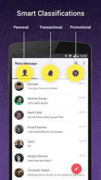 Reos SMS: Android messenger poster
