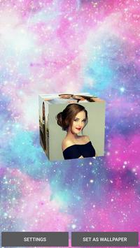 3D Photo Cube Live Wallpaper - 3D Pic Cube Live screenshot 4