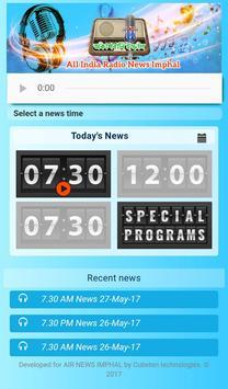 AIR News Imphal apk screenshot