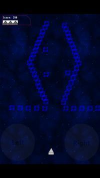 Cubefield screenshot 2