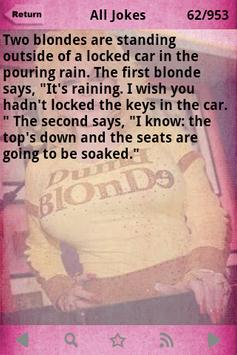 Blonde Jokes 1000+ apk screenshot