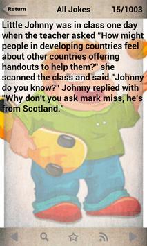 1000+ Litter Johnny Jokes apk screenshot