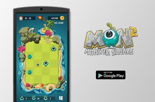 Monster Square poster
