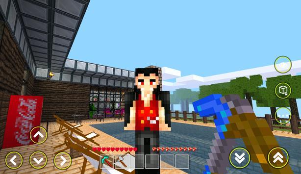 Cubes Craft - Block Planet apk screenshot