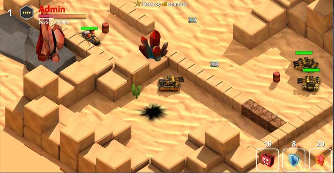 Block Tank Wars 3 screenshot 5