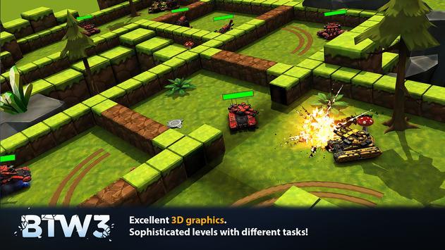 Block Tank Wars 3 poster
