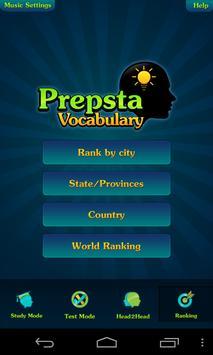 Prepsta Vocabulary Free apk screenshot