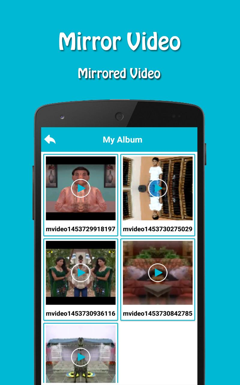 Mirror Video for Android - APK Download