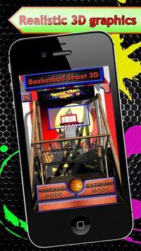 Basketball Shoot - 3D poster