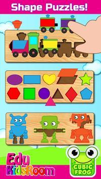 Preschool Educational Games for Kids-EduKidsRoom poster