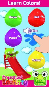 Toddler Educational Learning Games-EduKitty Kids poster