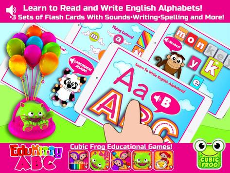 EduKitty ABC! Letter Tracing poster