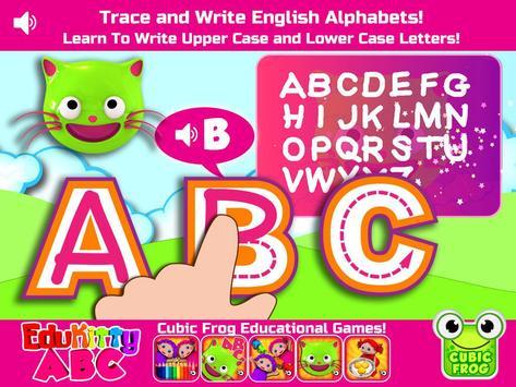 EduKitty ABC! Letter Tracing apk screenshot