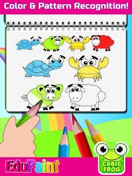 Coloring Games,Painting Book for Toddlers-EduPaint screenshot 12